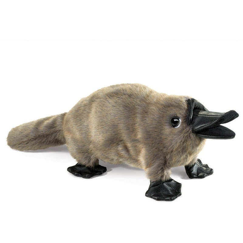 Folkmanis Baby Platypus Hand Puppet - Hand Puppets - Anglo Dutch Pools and Toys