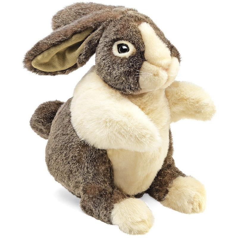 Folkmanis Dutch Rabbit Hand Puppet - Hand Puppets - Anglo Dutch Pools and Toys