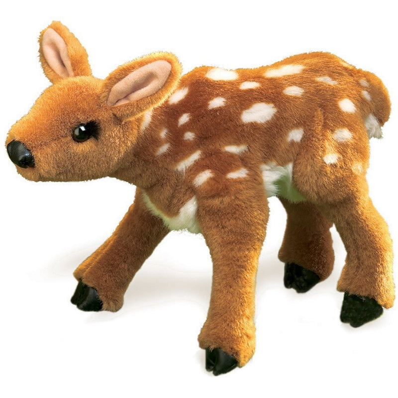 Folkmanis Fawn Hand Puppet - Hand Puppets - Anglo Dutch Pools and Toys