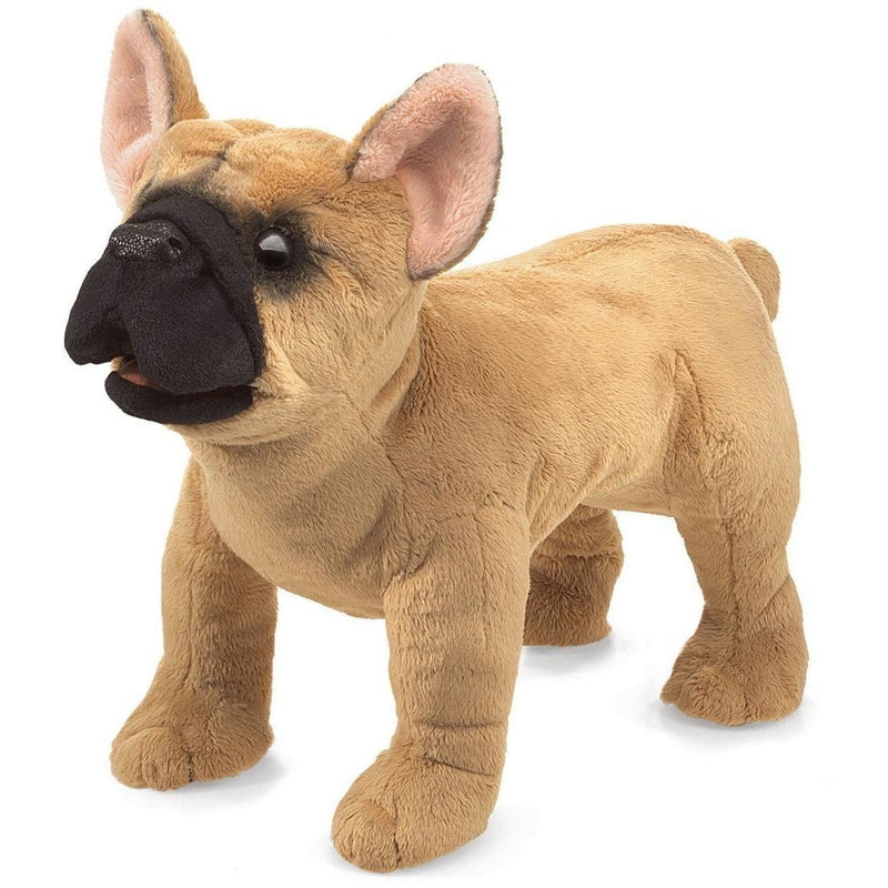 Hand Puppets - Folkmanis French Bulldog Hand Puppet