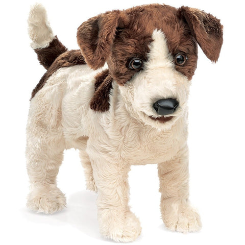 Folkmanis Jack Russell Terrier- - Anglo Dutch Pools & Toys  - 1