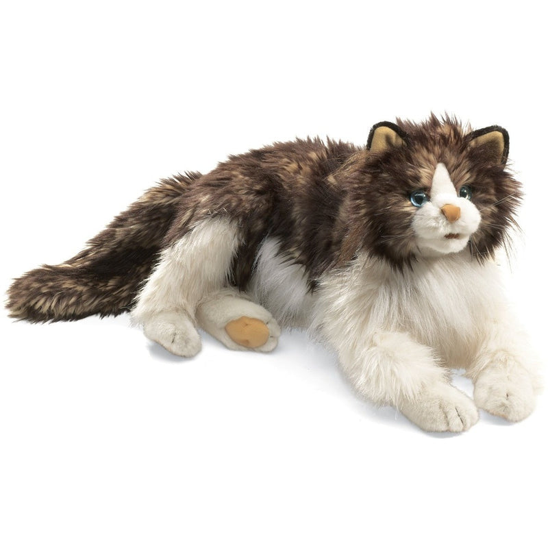 Folkmanis Ragdoll Cat Hand Puppet - Hand Puppets - Anglo Dutch Pools and Toys