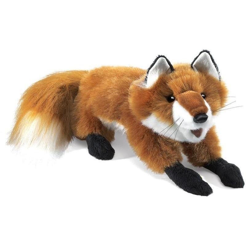 Hand Puppets - Folkmanis Red Fox, Small Hand Puppet