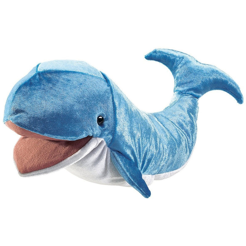 Folkmanis Whale Hand Puppet - Hand Puppets - Anglo Dutch Pools and Toys