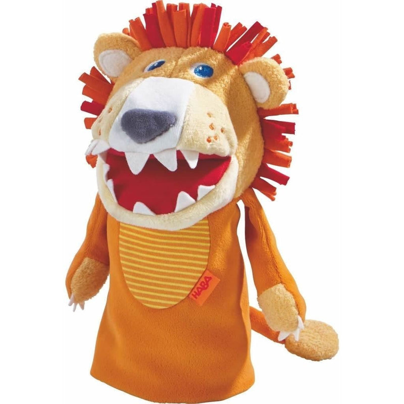 HABA Lion Glove Puppet - Hand Puppets - Anglo Dutch Pools and Toys