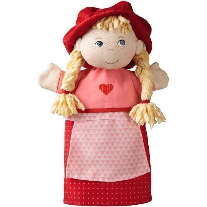 HABA Little Red Riding Hood Glove Puppet - Hand Puppets - Anglo Dutch Pools and Toys