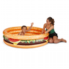 "BigMouth Cheeseburger Lil' Pool 63"" x 15.5"""