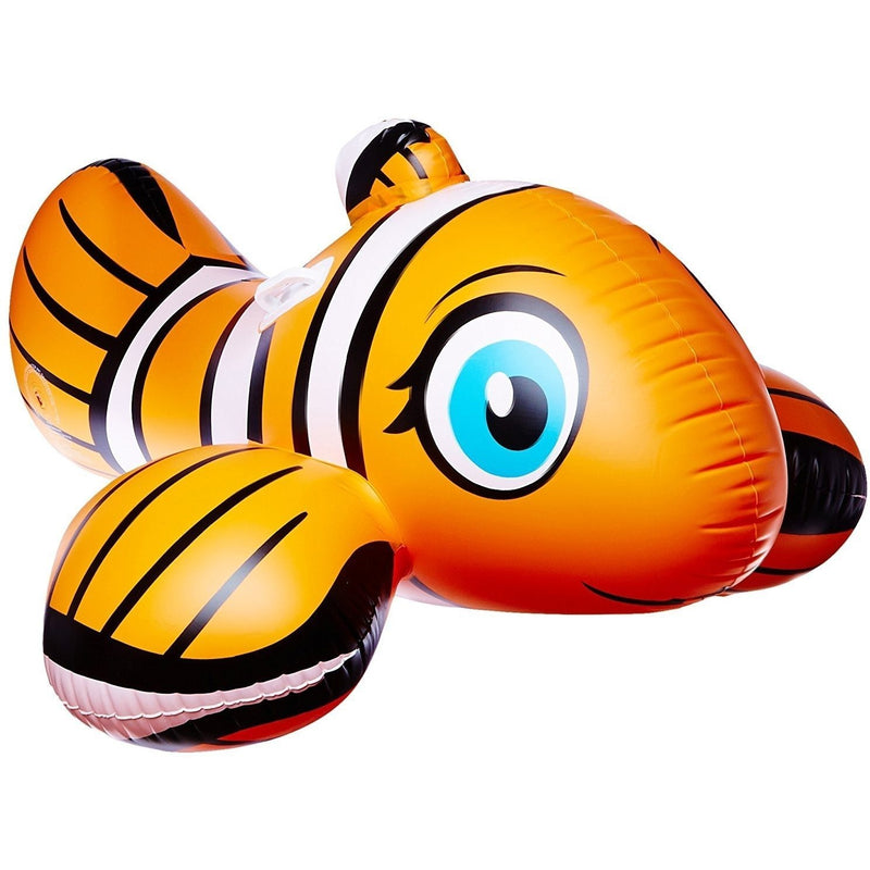 Inflatables And Rafts - Poolmaster Clown Fish Rider 58""