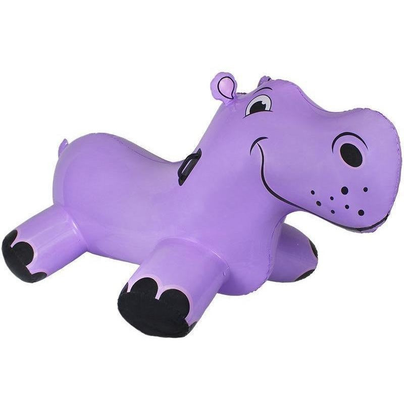 Inflatables And Rafts - Poolmaster Happy Hippo Rider 69""