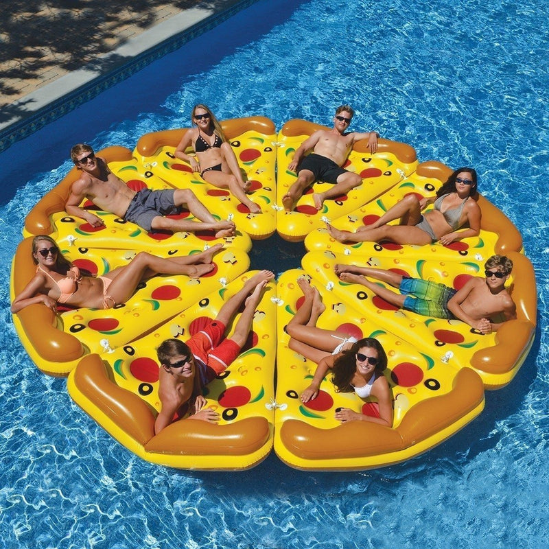 Swimline Pizza Slice Inflatable Pool Float | Inflatables and Rafts