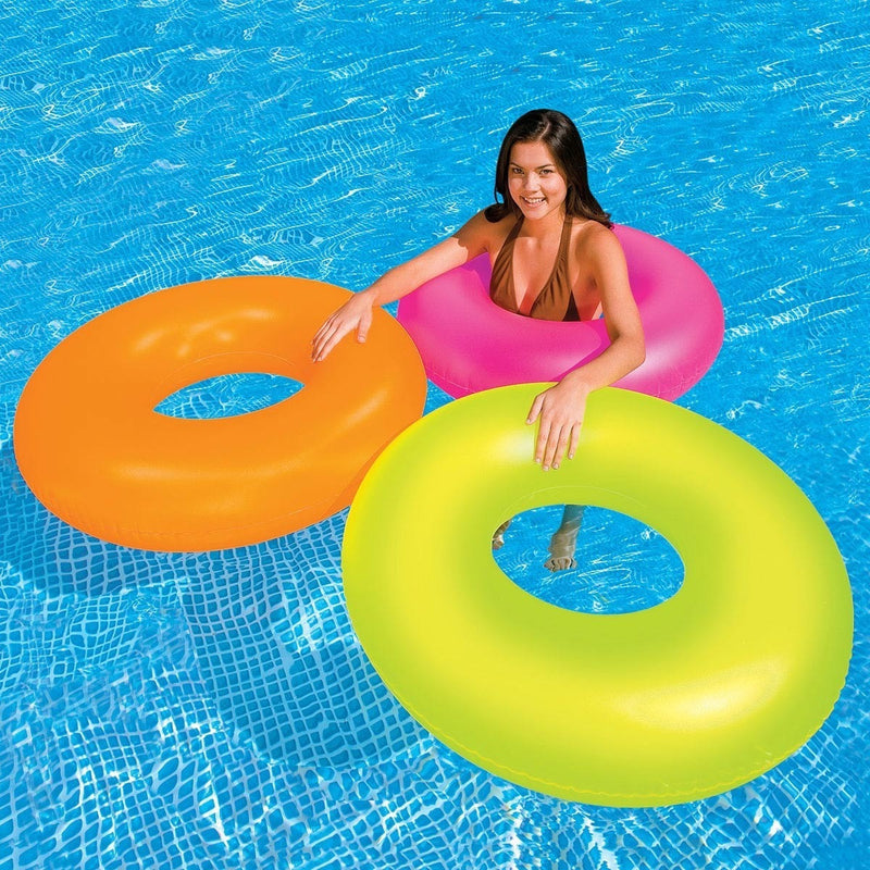"""Intex Neon Frost Inflatable Tube 36"""""""