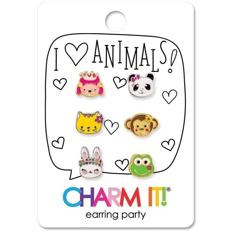 Charm It! Animals Earring Party Set