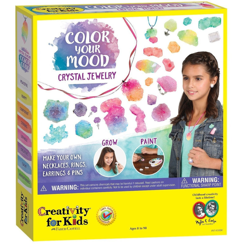 Creativity For Kids Color Your Mood Crystal Jewelry - Jewelry Making - Anglo Dutch Pools and Toys