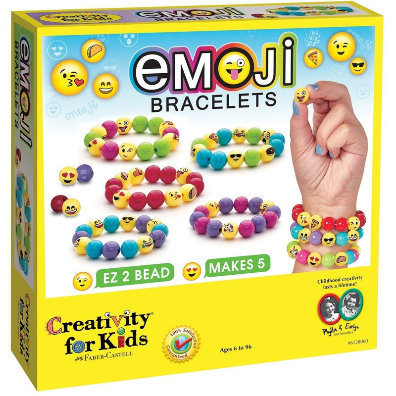 Creativity For Kids Emoji Bracelets - Jewelry Making - Anglo Dutch Pools and Toys
