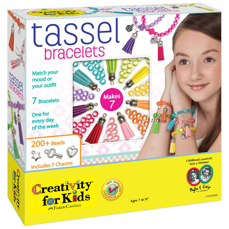 Jewelry Making - Creativity For Kids Tassel Bracelets