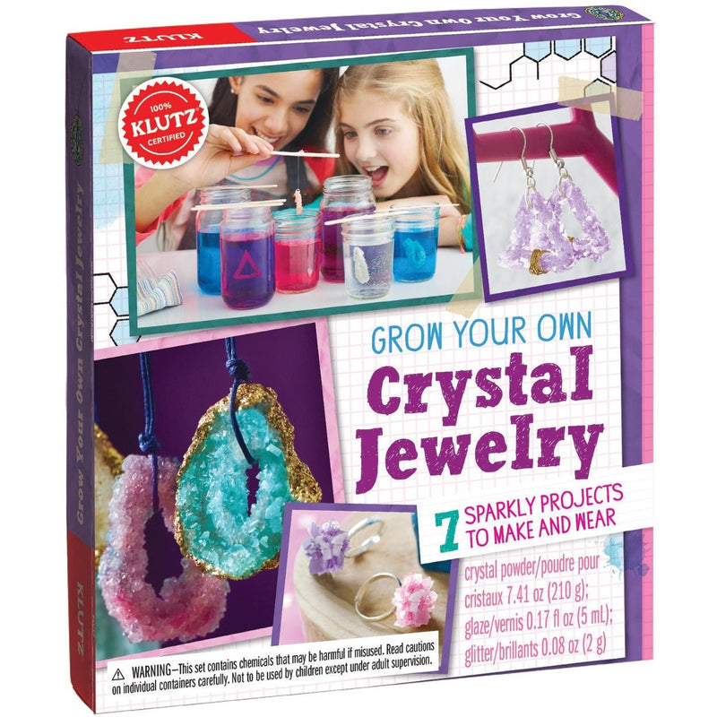 Klutz Make Grow Your Own Crystal Jewelry - Jewelry Making - Anglo Dutch Pools and Toys