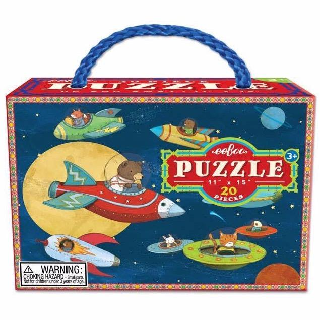 Jigsaw Puzzles - EeBoo Up And Away 20pc Puzzle