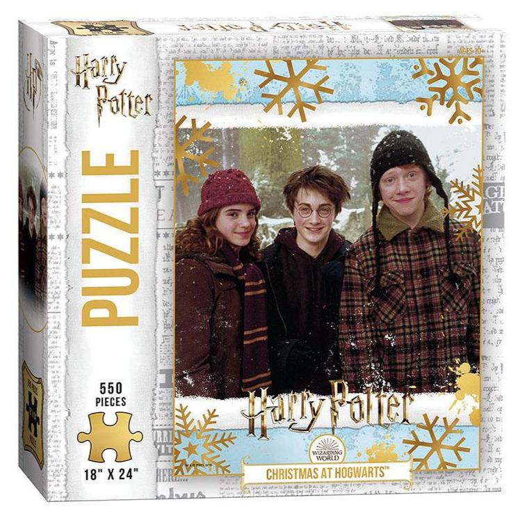 "Jigsaw Puzzles - Harry Potter ""Christmas At Hogwarts"" 550 Piece Puzzle"