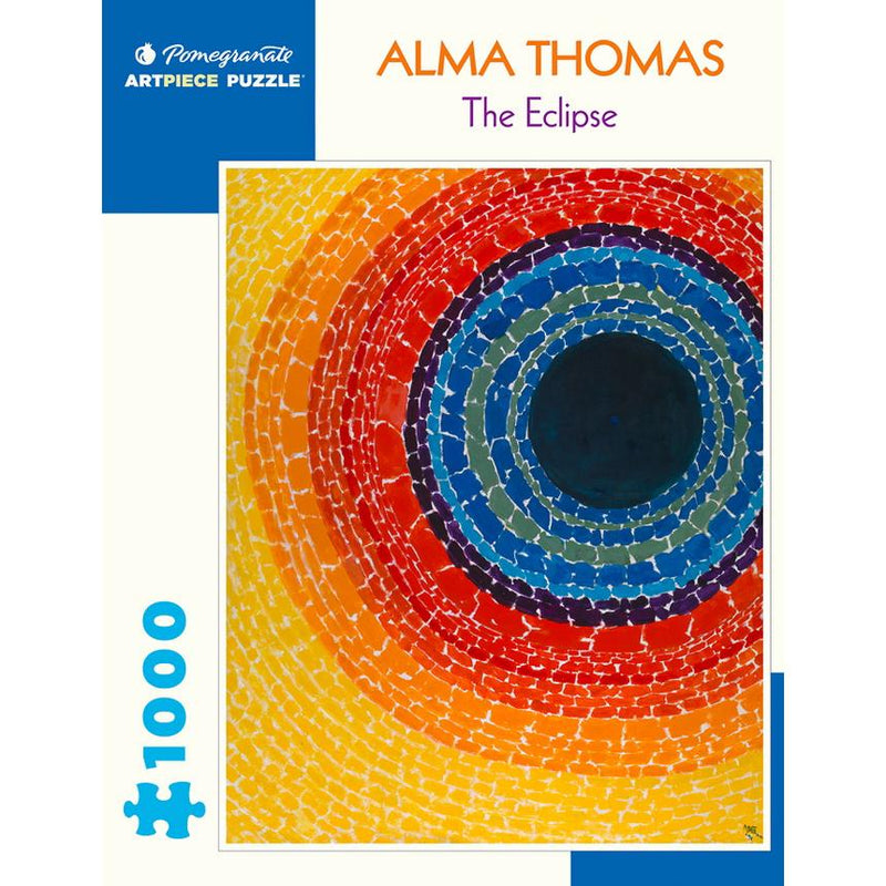 Jigsaw Puzzles - Pomegranate Alma Thomas: The Eclipse 1000 Pc Puzzle