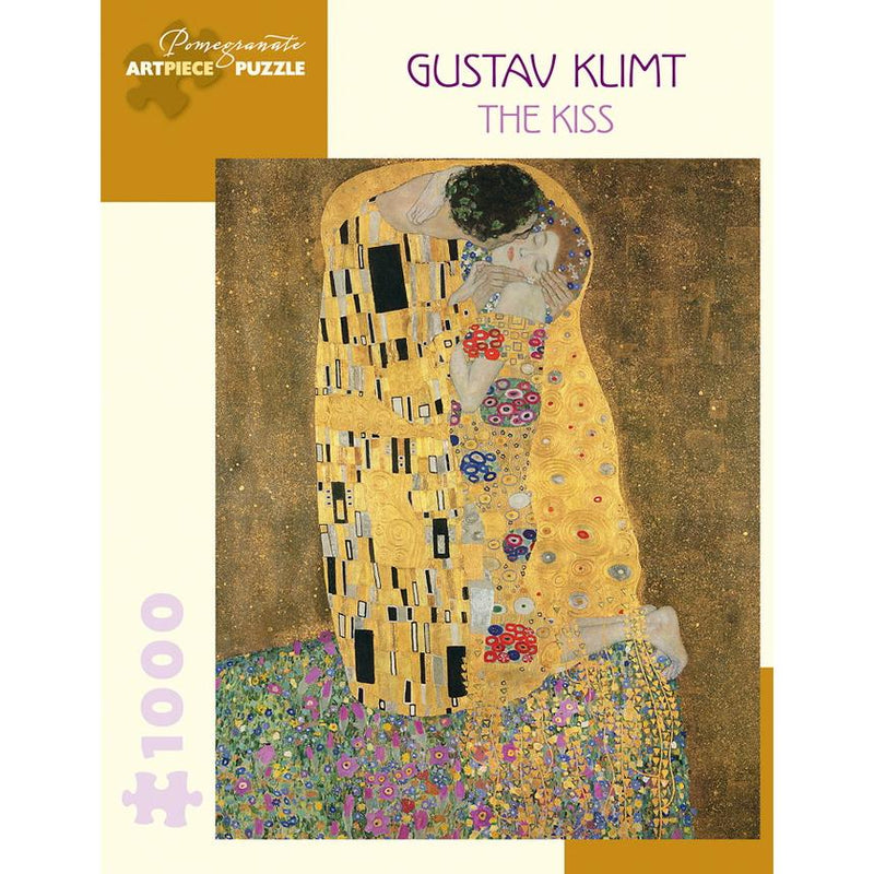 Jigsaw Puzzles - Pomegranate Gustav Klimt: The Kiss 1000 Pc Puzzle