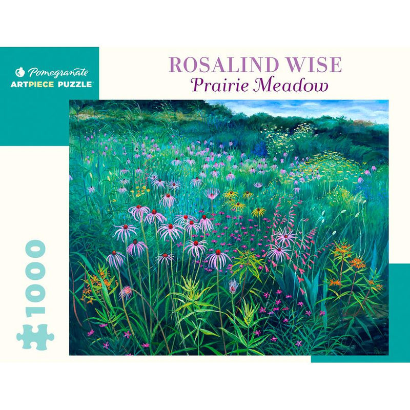 Jigsaw Puzzles - Pomegranate Rosalind Wise: Prairie Meadow 1000 Pc Puzzle