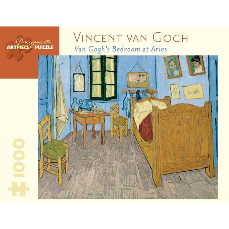 Jigsaw Puzzles - Pomegranate Van Gogh's Bedroom At Arles 1000 Pc Puzzle