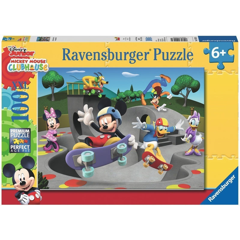 Jigsaw Puzzles - Ravensburger At The Skate Park 100 XXL Piece Puzzle
