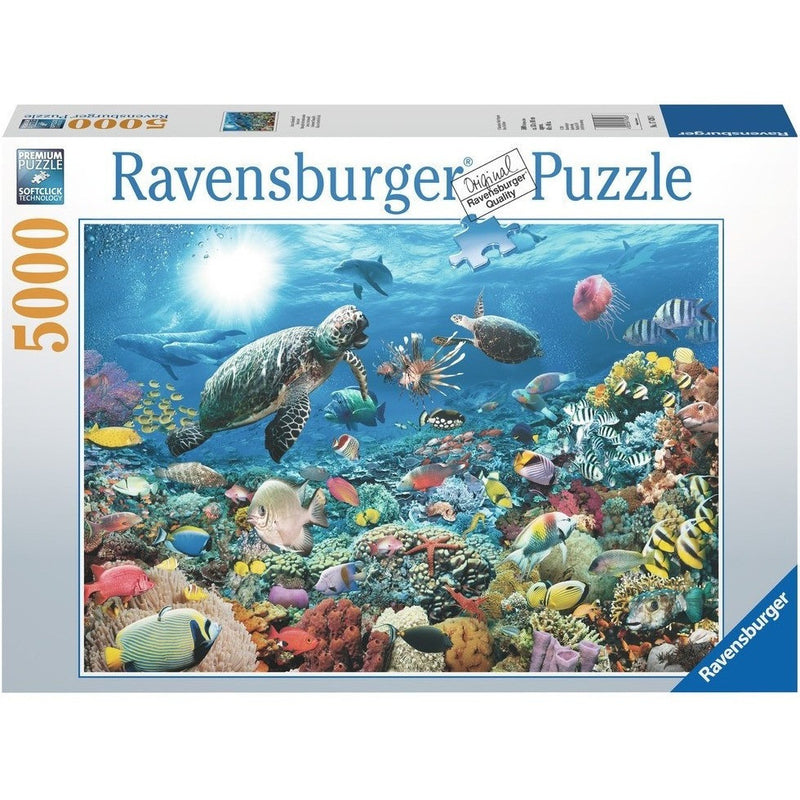 Jigsaw Puzzles - Ravensburger Beneath The Sea 5000 Piece Puzzle