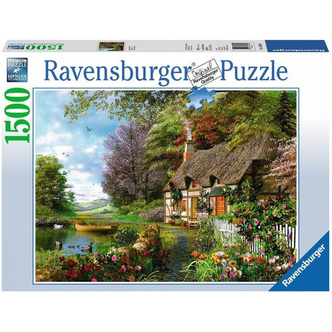 Jigsaw Puzzles - Ravensburger Country Cottage 1500 Piece Puzzle