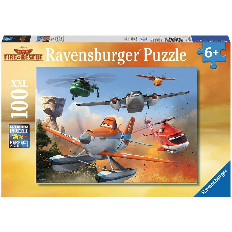 Jigsaw Puzzles - Ravensburger Fighting The Fire 100 XXL Piece Puzzle