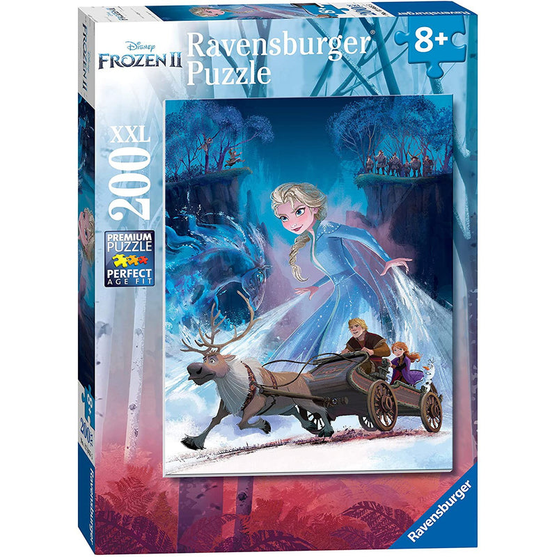 Jigsaw Puzzles - Ravensburger Frozen II The Mysterious Forest 200 Piece Puzzle