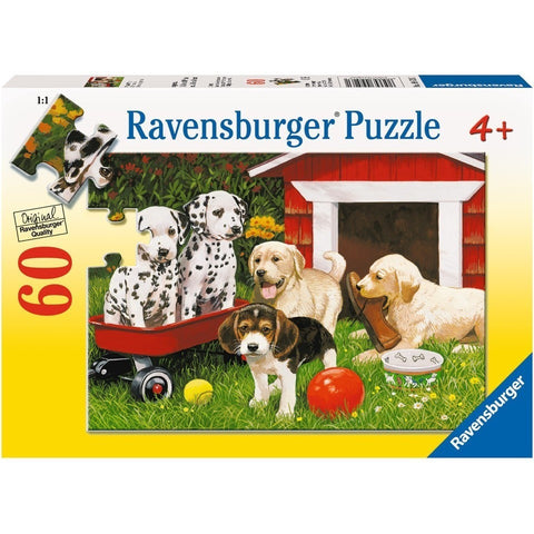 Jigsaw Puzzles - Ravensburger Puppy Party 60 Piece Puzzle