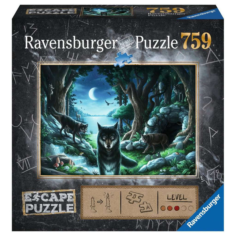 Jigsaw Puzzles - Ravensburger The Curse Of The Wolves 759 Piece Puzzle