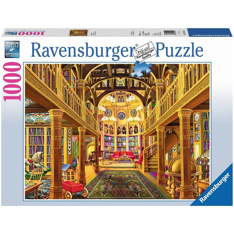 Jigsaw Puzzles - Ravensburger World Of Words 1000 Piece Puzzle