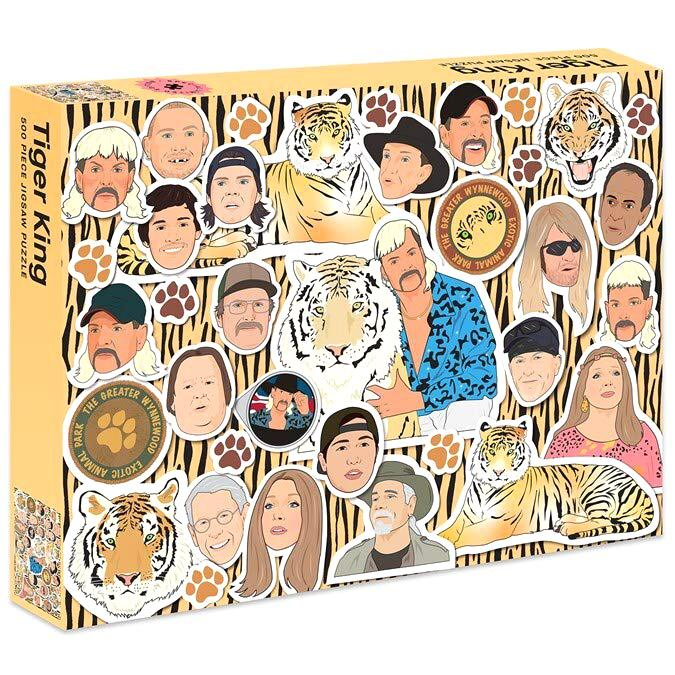 Jigsaw Puzzles - Tiger King 500 Pc Puzzle