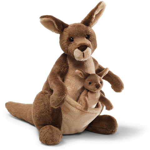"Gund Jirra Brown Kangaroo 10"" - Jungle and Wild Animals - Anglo Dutch Pools and Toys"