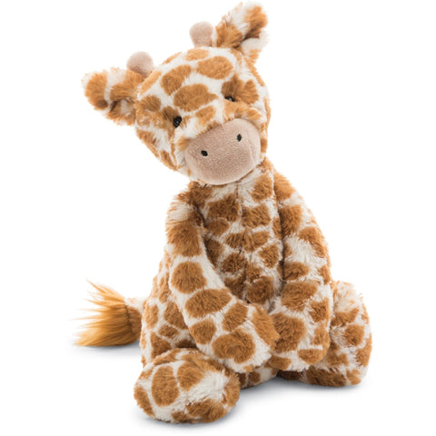 "Jellycat Bashful Giraffe- Medium- 12""- Anglo Dutch Pools & Toys  - 1"