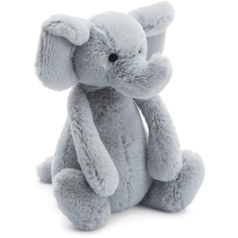 Jellycat Bashful Grey Elephant Jungle And Wild Animals