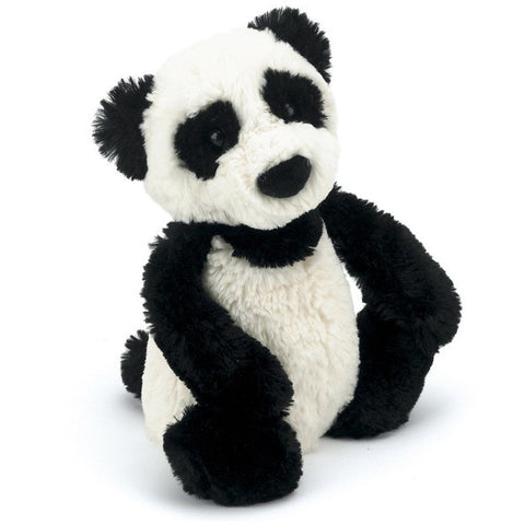 "Jellycat Bashful Panda Medium 12"" - Jungle and Wild Animals - Anglo Dutch Pools and Toys"