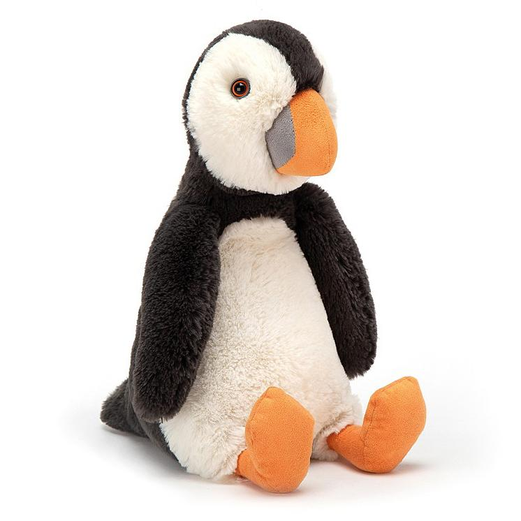 Jungle And Wild Animals - Jellycat Bashful Puffin Medium 12""