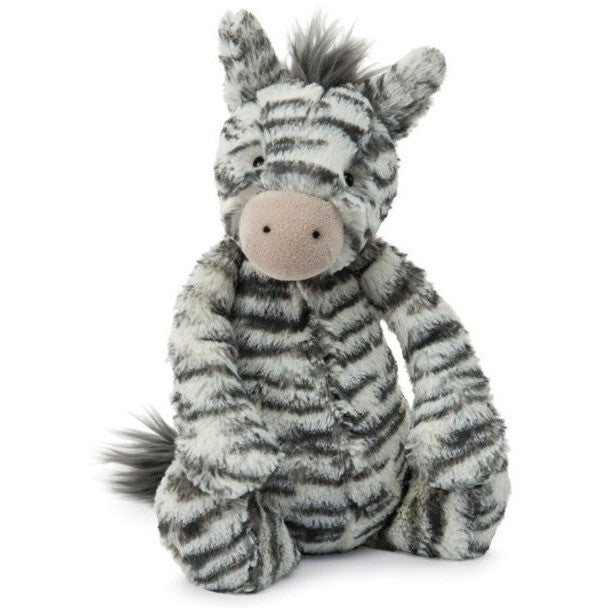 Jellycat Bashful Zebra Medium 12""
