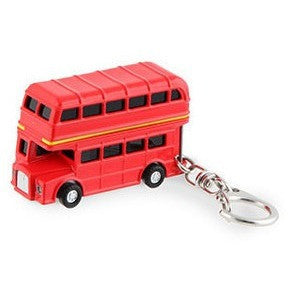 Kikkerland Double Decker Bus Keychain - Keychains - Anglo Dutch Pools and Toys