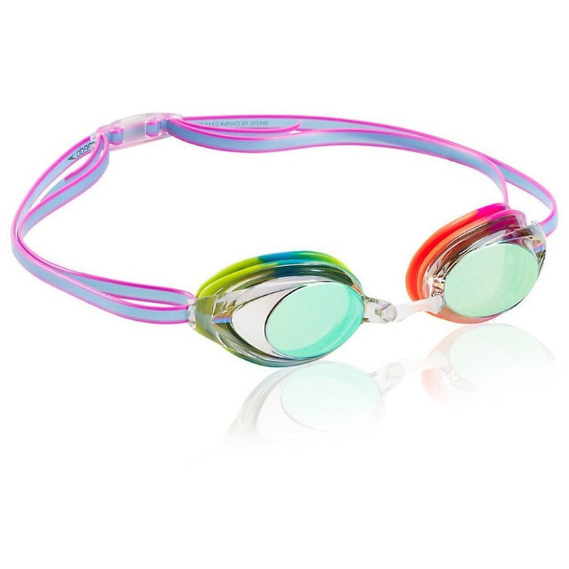 Speedo Jr. Vanquisher 2.0 Mirrored Goggle - Kids and Junior Racing Goggles - Anglo Dutch Pools and Toys