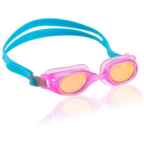 Speedo Jr. Hydrospex Mirrored Goggle- Pink- Anglo Dutch Pools & Toys  - 1
