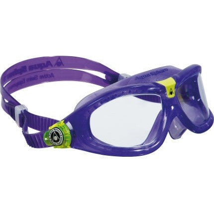 Aqua Sphere Seal Kid 2 - Clear Lens- Violet Frame with Lime- Anglo Dutch Pools & Toys  - 1
