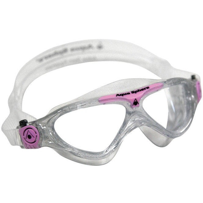 Aqua Sphere Vista Jr. Swim Mask - Clear Lens - Kids and Junior Swim Masks - Anglo Dutch Pools and Toys