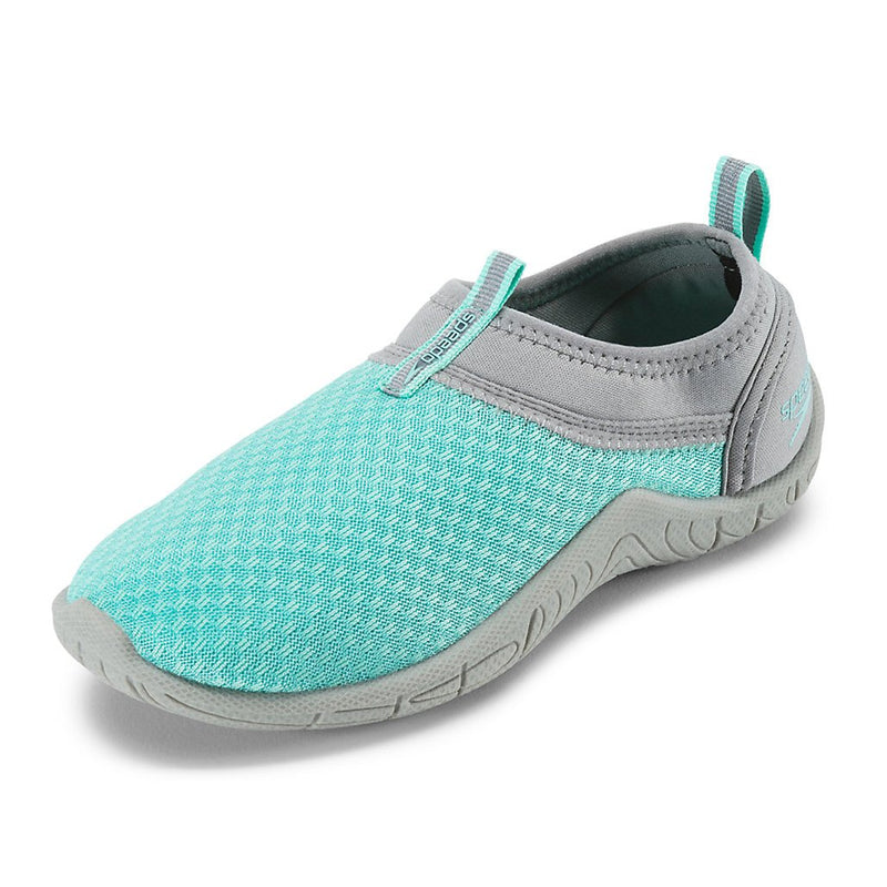 Kids And Toddler Water Shoes - Speedo Kids' Tidal Cruiser Water Shoes- Frost/Grey