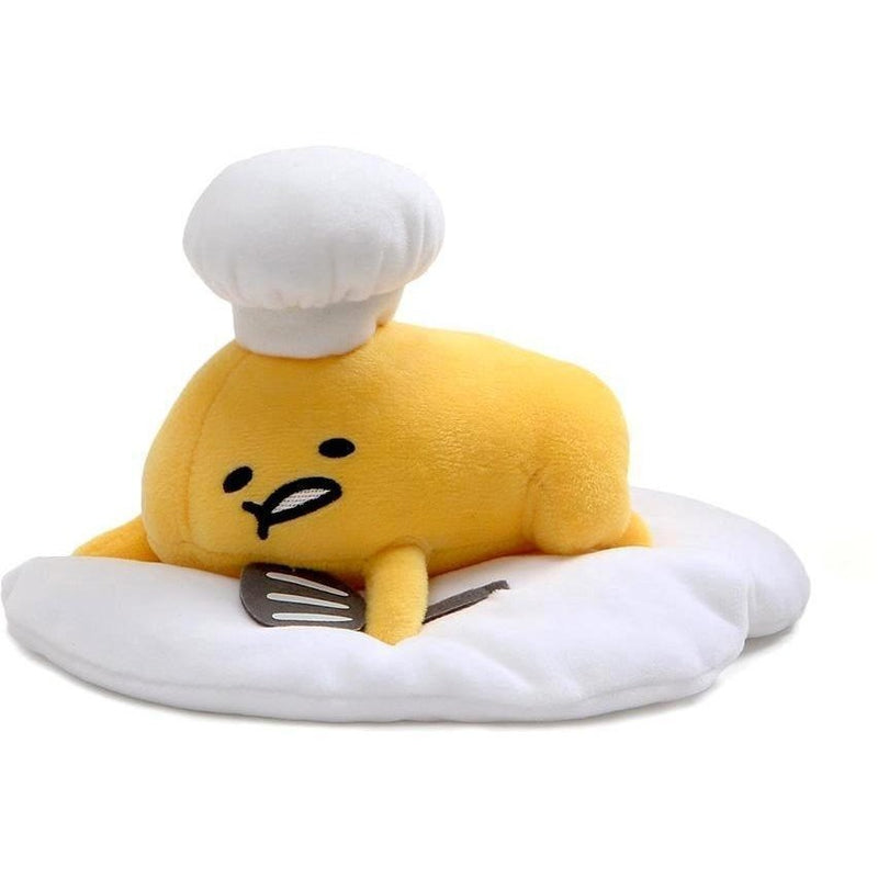 Licensed Plush Characters - Gund Gudetama With Chef's Hat 8""