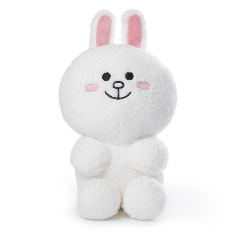 Licensed Plush Characters - Gund LINE FRIENDS Cony, Seated 7""