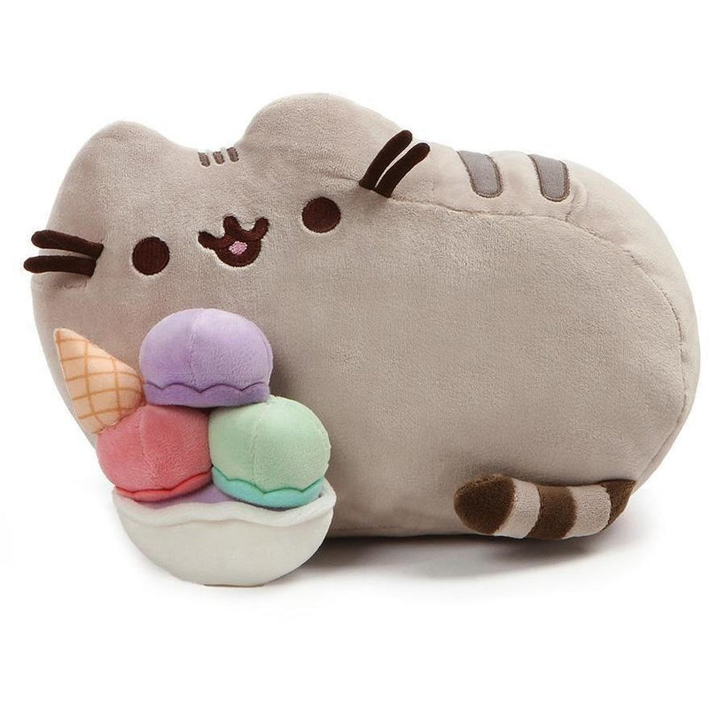 "Licensed Plush Characters - Gund Pusheen 12"" Ice Cream Sundae Plush"